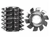 Double circular-arc gear hob
