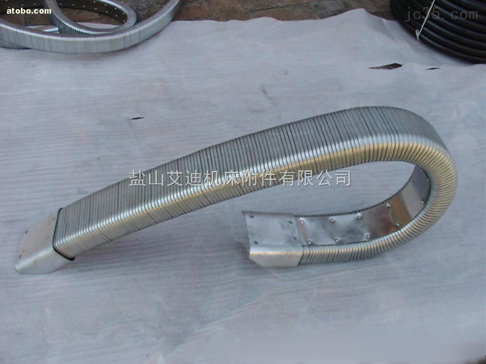 矩形金属软管  机床穿线矩形管