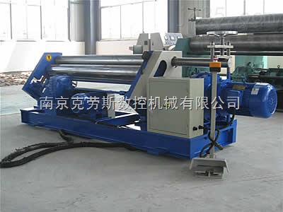 【南京克劳斯】机械卷板机 三辊卷板机 空心实心辊根据客户要求定做