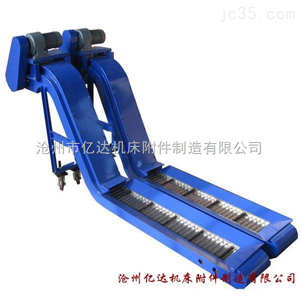 机床磁性排屑机 磁性辊式排屑机 排屑机厂加工