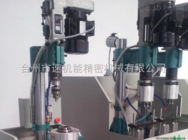 6工位汽车摇臂钻孔攻丝组合机床,专业生产机床厂家