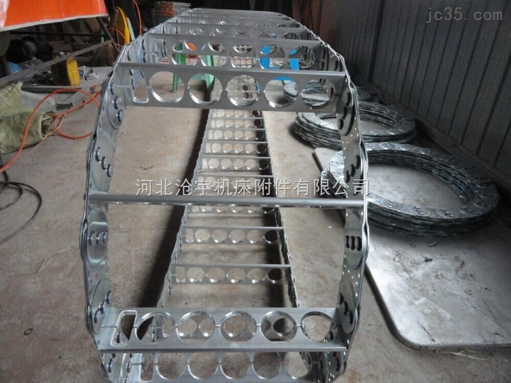 大庆桥式穿线钢制拖链