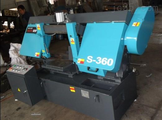 GHA280高配置机械送料金属带锯床