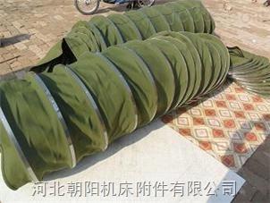 热销加固型散装水泥伸缩绿帆布袋