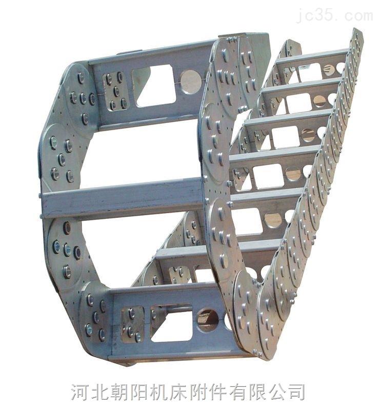 供应锻压机高柔性耐冲击桥式钢铝拖链