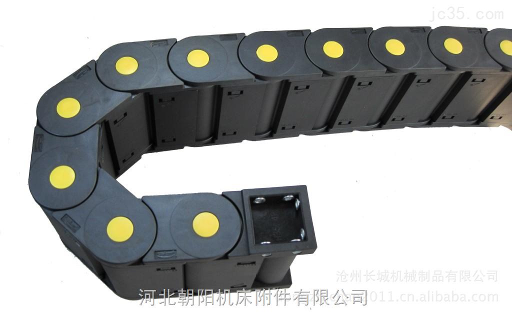 郑州装载机穿线电缆工程尼龙拖链