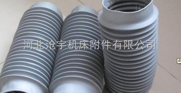 圆筒式耐磨损伸缩式抗老化通风软连接
