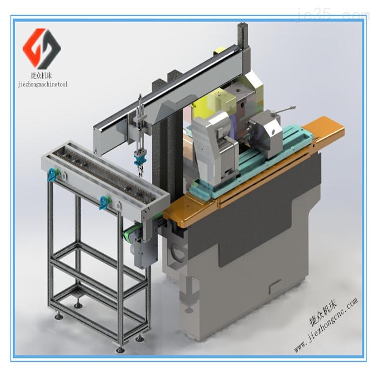 专业生产外圆磨床桁架式单双机械手,专业的外圆磨床自动化供应商