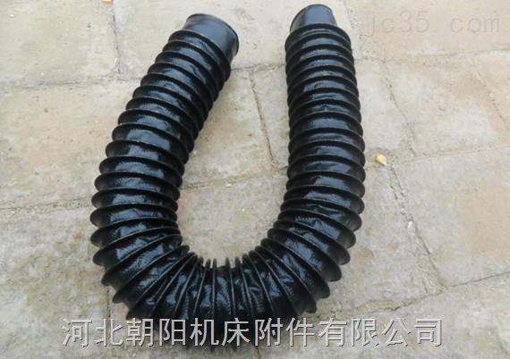 耐高温伸缩式圆形油缸防护罩按需定制