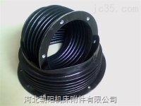 专业定制橡胶复合布活塞杆伸缩防护罩