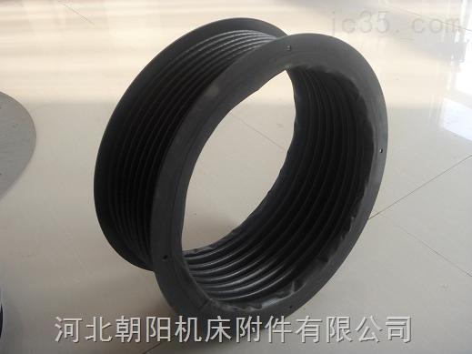 除尘设备高温热合圆形丝杠防护罩