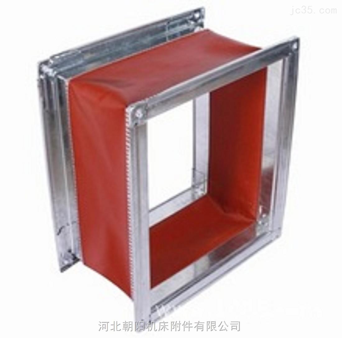 定制帆布硅胶振动筛软连接