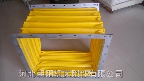 纺织机械专用方形钢丝骨架防尘软连接
