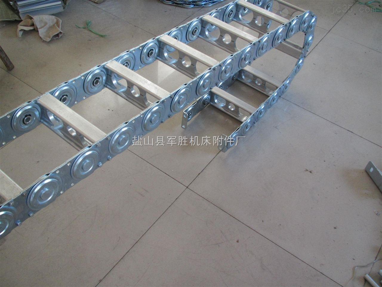 工程电缆穿线钢制拖链产品直销