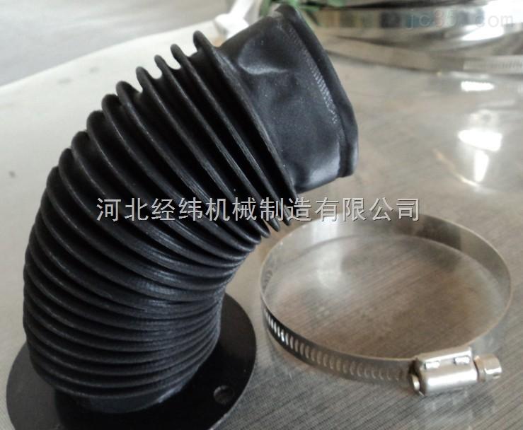 定制圆形伸缩防护罩 油缸保护套 圆形伸缩防护罩
