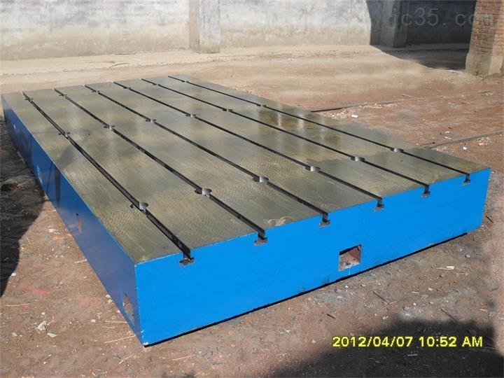 高质量铸铁底板/T型槽铸铁平板/实验铁地板/低价促销假一赔十