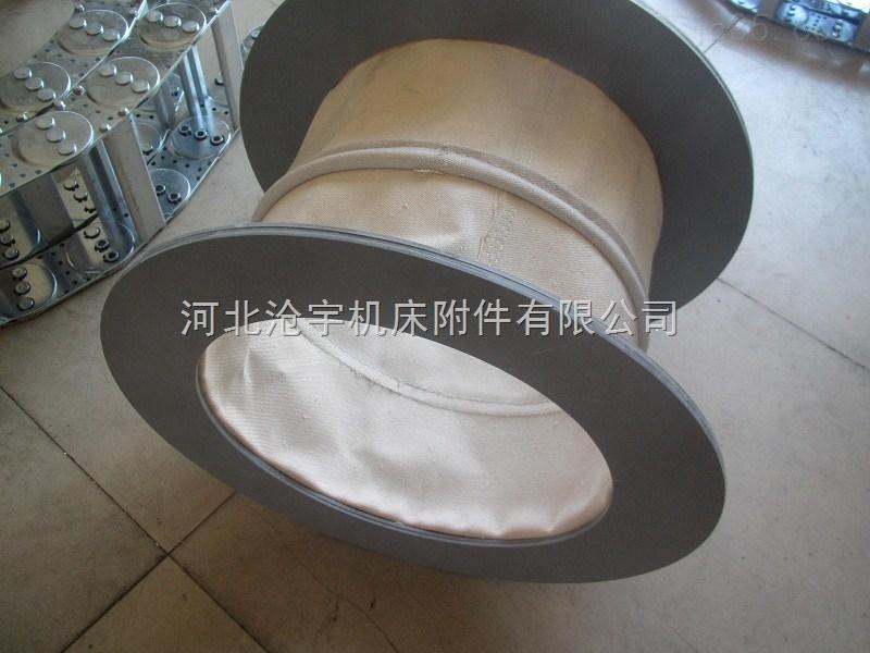 阻燃排烟伸缩软管用于钢厂