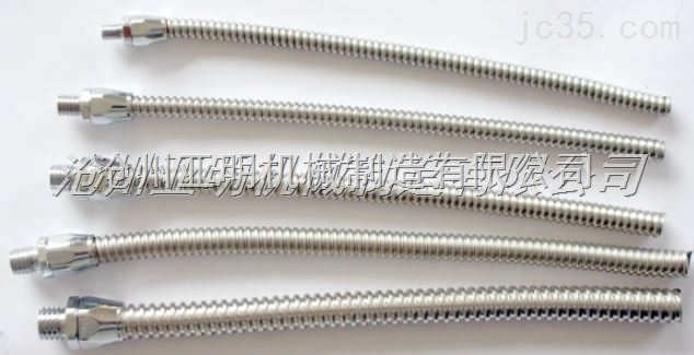 新颖单扣型金属软管