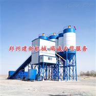 建新机械环保型HZS180混凝土搅拌站