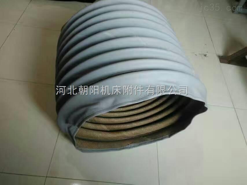 郑州加强材质耐高温通风伸缩软连接
