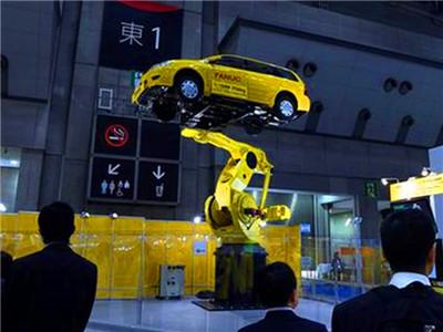 2017国际机器人展在日本东京开幕