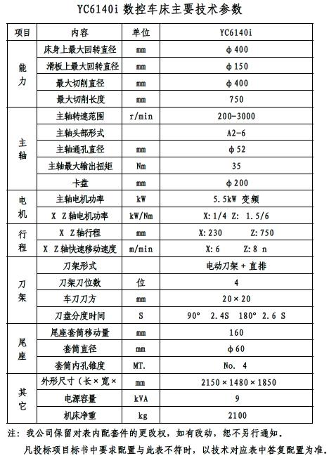 yc6140i-经济型数控车床-山东白马永诚数控机床有限