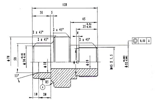 套类零件数控车削图纸分析及加工工艺分析举例