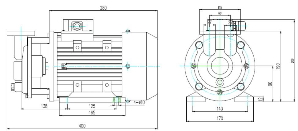 锅炉温控手动电路图
