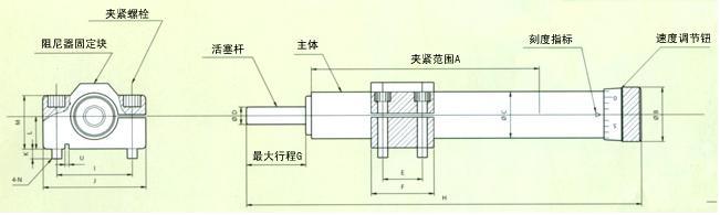 弹簧返回型阻尼器速机能