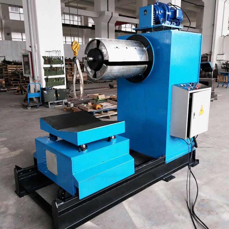 全自动开卷机mtc-600液压放料架 钢带卷放卷机图片